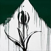 Blume verfremdet