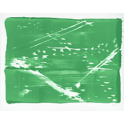abstraktes Bild, grün