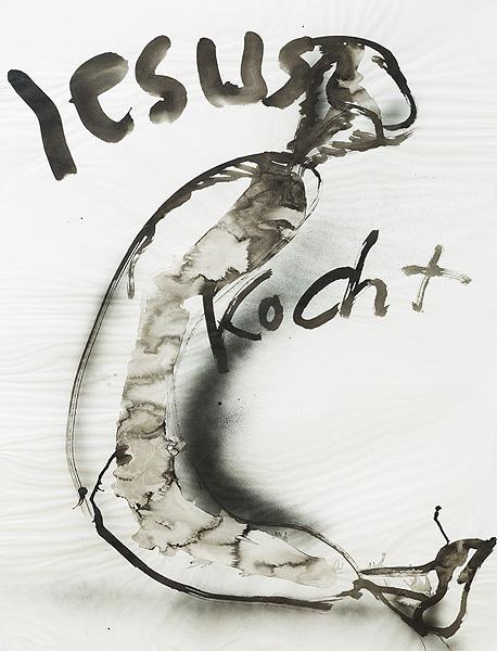 Zeichnung mit Buchstaben