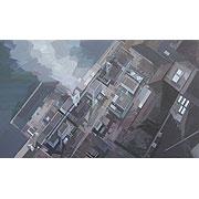 Luftansicht einer Fabrik