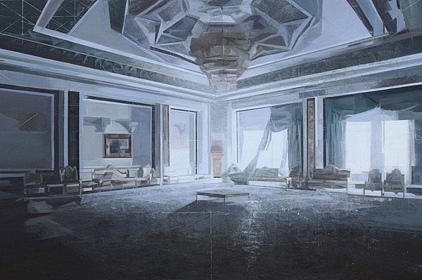 palastartiger Innenraum