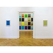 abstraktes Bild mit Farbflächen