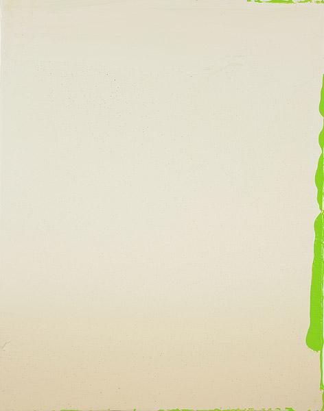 abstraktes Gemälde mit Farbflächen