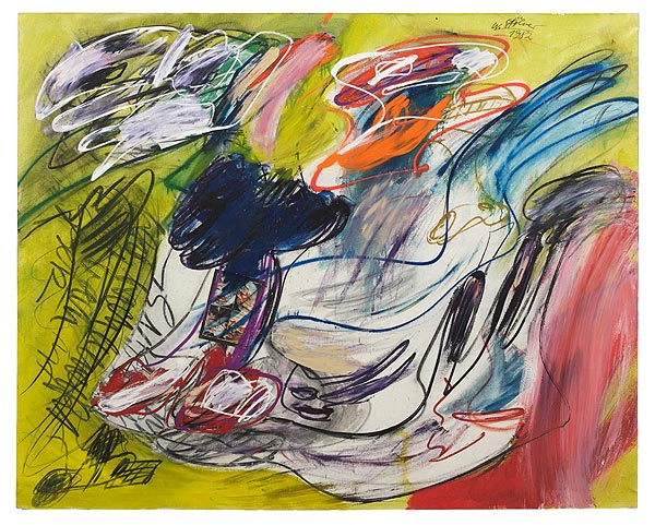 abstraktes figürliches Gemälde