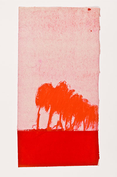 rote Bäume