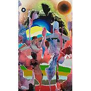 abstraktes farbiges Bild