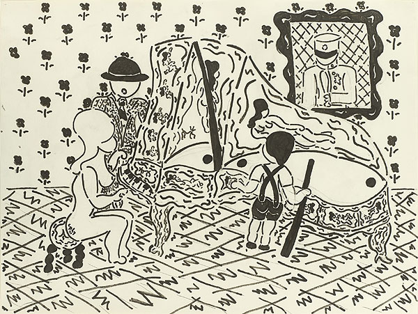 Menschen an einem Klavierflügel