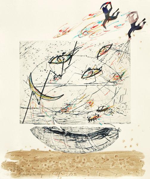 abstraktes Kunstwerk