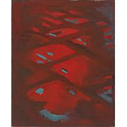 abstrakte rote Farbkomposition