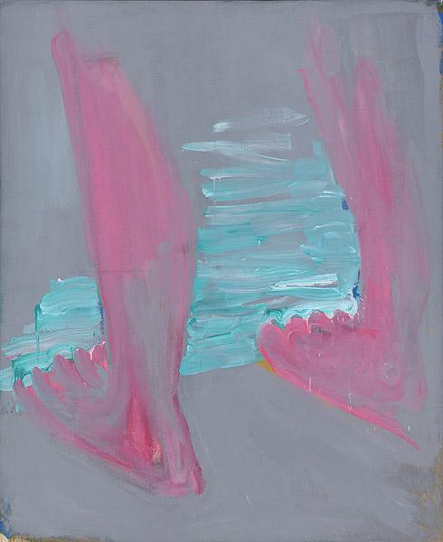Beine in rosa