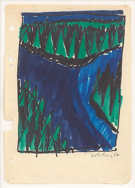farbige Zeichnung