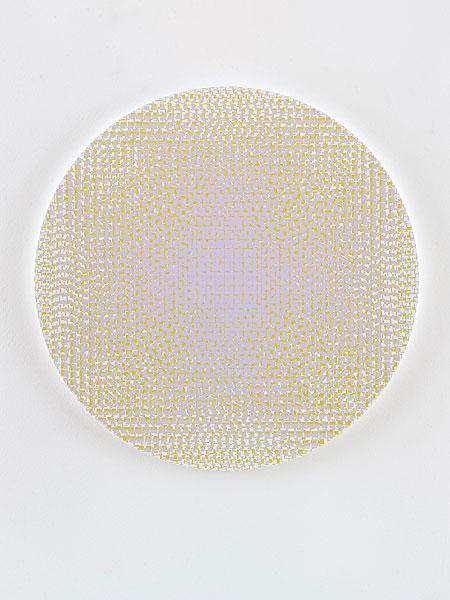 abstraktes Gemälde geometrische Elemente