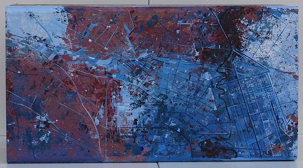 Luftansicht einer Stadt