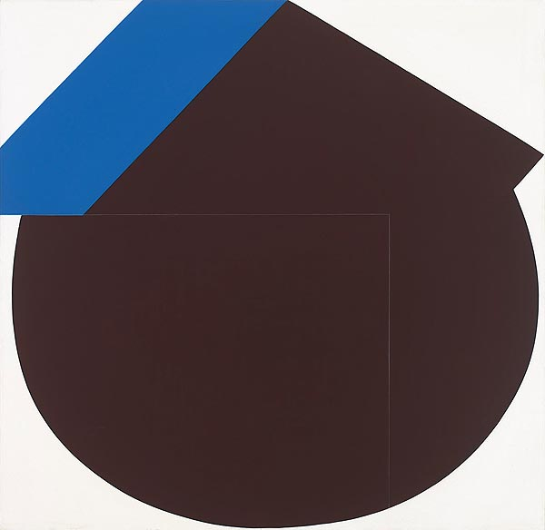 abstrakte geometrische farbige Flächen