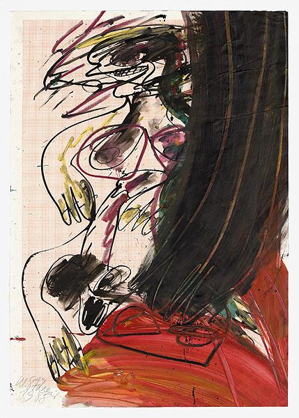 abstrakte figurative Komposition