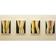Kunstwerk in der aktuellen Ausstellung