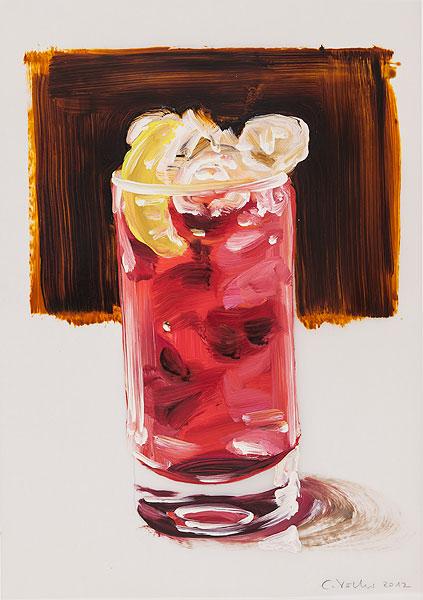 Glass mit Cocktail-Getränk