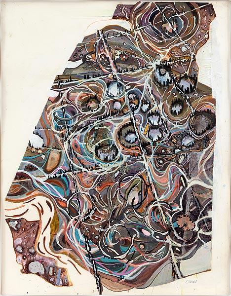 figürliche Darstellung in Farbe