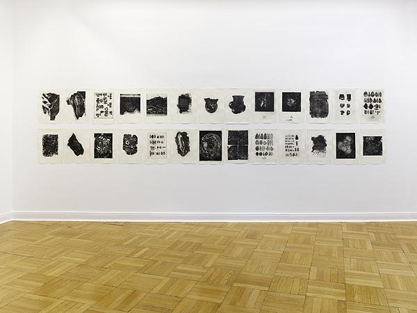 figürliche Darstellungen in schwarzweiß